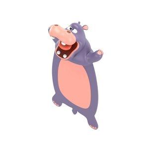 3D Hippo Bookmark